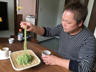 プロ御用達の酒田の製麺会社、まつだ食品さんの新商品『庄内ぺろんこ麦きり』を試食しました♪