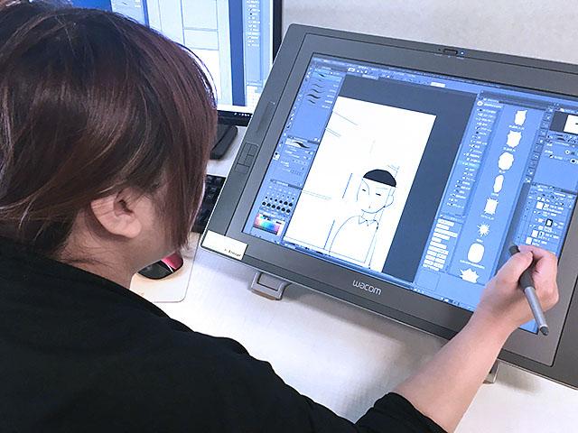 マンガが描きたくてクリップスタジオの先生に習う