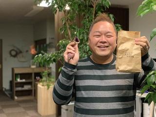 酒田の老舗萬谷さんの焼き芋『芋萬』