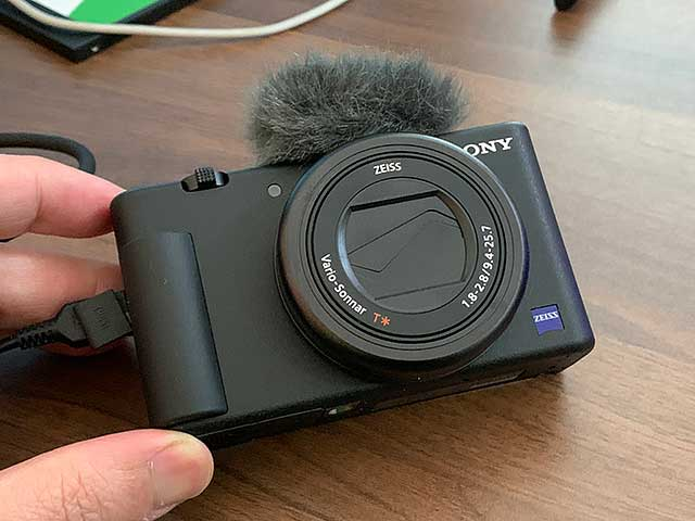 デジカメがWebカメラになることもあります